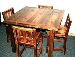 wooden pub table bar tables and stools round wood remarkable stool l shaped barn furniture rustic