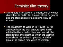 film theory feminist theory feminist