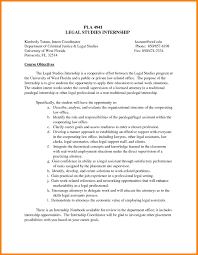 11 Resume Objective For Internship Offecial Letter