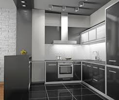Exellent Modern Kitchen Cabinets Black C Throughout Design Inspiration