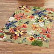 four seasons tropical floral indoor outdoor rugs