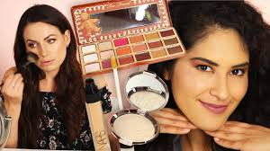 we tried a full face of makeup using sephora s best sellers
