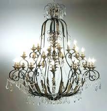 metal chandelier