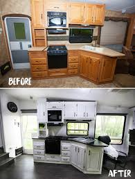 Kitchen Renovation For Your Home Five Fifth Wheel Remodels You Dont Want To Miss Go Rving