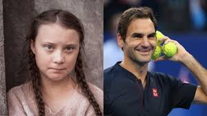 Greta Thunberg Blasts Roger Federer For Ties With Fossil ...