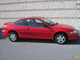 2001 Bright Red Chevrolet Cavalier Coupe #22063292 | GTCarLot.com ...