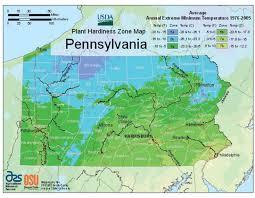 pennsylvania vegetable planting calendar pennsylvania zone hardiness map