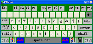 It was devised by the international phonetic association in the late 19th. On Screen Keyboard