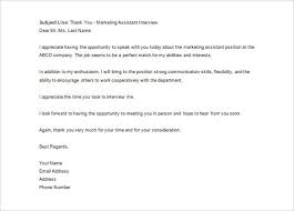 Thank You Letter To Hr After Interview Letter Of Recommendation