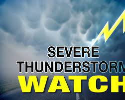 Severe thunderstorm watch ends for ...