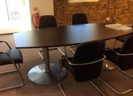 round conference table 4 chairs and chair sets set office furniture modern