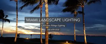 Landscape Lighting Miami Miami Landscape Lighting Inc Led Installations Tel 305
