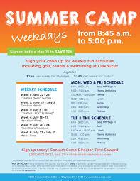 Summer Camp Pamplets Pamphlet For Summer Camp Under Fontanacountryinn Com