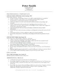 Clerical Resume Objectives Clerical Work Resume Hudsonhs Me