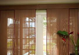 Cover Vertical Blinds Woven Wood Matchstick Vertical Sliding Panels Blindscom
