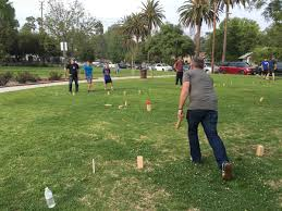 Lawn Game With Wooden Blocks Play KUBB The Game The Vikings Played With The Skulls Of Their 35