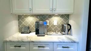beveled arabesque kitchen backsplash tile charming black and white