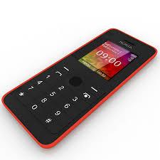 Nokia 107 Dual SIM 3D Model $19 - .max ...