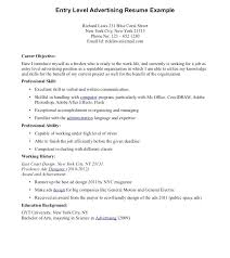 Entry Level Sample Resume Objectives Chemical Engineering Examples ...