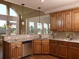 kitchen paint colors with honey oak cabinets picture