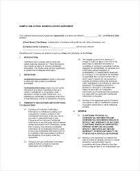 Nda Document Template Nda Format Konmar Mcpgroup Co