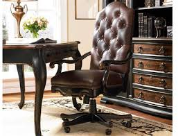 leather office. Hooker Furniture Grandover Black With Gold Accent Executive Swivel Chair Leather Office O