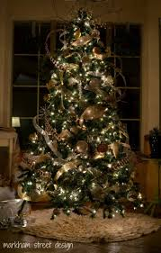 Elegant Decorated Christmas Trees With Bdebcabafafffb