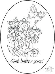 Get Well Printable Coloring Pages Soon Cards To Color Cars Top Free