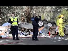 Euroa Serious Crash on the Hume Highway - YouTube