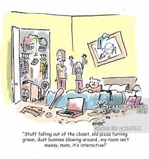 untidy bedroom cartoon 3 of 7