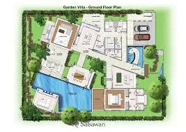garden home plans. Contemporary Plans Saisawan  Garden Villas Ground Floor Plan In Home Plans L