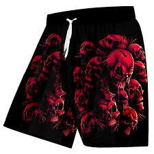 <b>UJWI</b> Mens Shorts Casual <b>Hip Hop</b> Streetwear Elastic Waist ...