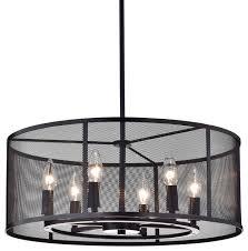 aludra 6 light chandelier oil rubbed bronze