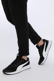 Puma TAPER Siyah Erkek Koşu Ayakkabısı 100654157 | F