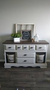 restoring furniture ideas. Old Dresser Doors Removed And Baskets Added. Fusion Mineral Paint In Putty. Restoring Furniture Ideas