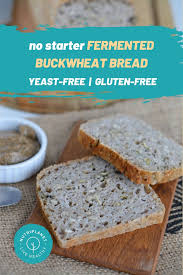 The perfect accompaniment to a delicious curry or just as is! Fermented Buckwheat Bread Video No Starter Gluten Free