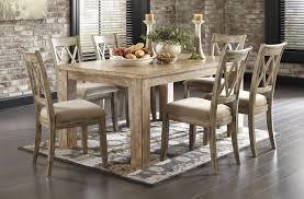 ashley furniture mestler bisque rectangular dining room table ashley furniture dining room sets