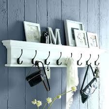 Long Coat Racks For The Wall Inspiration Modern Wall Shelf With Hooks Coat Racks Modern Wall Coat Rack Modern