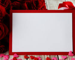 love blank frame backgrounds for powerpoint template