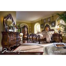 Michael Amini Living Room Furniture Aico Michael Amini 5pc Chateau Beauvais Queen Size Bedroom Set For