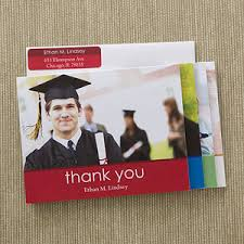 Personalized Photo Graduation Thank You Cards