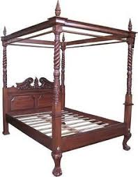 9 Best Antique Four Poster Beds images | Canopy beds, Four poster ...