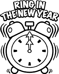 Small Picture Coloring Pages New Years For Preschool Pdf Children 2016 clarknews