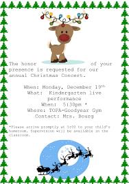 kindergarten christmas concert the odyssey preparatory academy kinder christmas flyer for 2016
