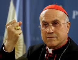 VATICAN'S SECRETARY OF STATE, CARDINAL TARCISIO BERTONE (NCR Online) One simply can't make this stuff up. At least one member of the hierarchy, ... - cardinal-bertone