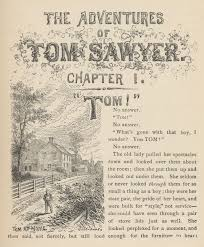 adventures of tom sawyer by twain complete chapter i