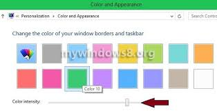 Windows 10 Color Scheme Change Color Schemes In Windows 8 Mywindows8 Org