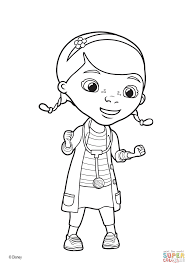 Small Picture Doc Mcstuffin Coloring Pages Doc Mcstuffins S In Door Sign Free