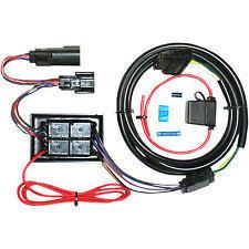 harley trailer wiring harness khrome werks trailer wiring harness plug and play for harley davidson 3902