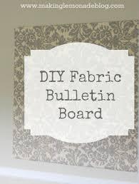 Velcro Memo Board DIY Fabric Covered Bulletin Board Making Lemonade 30